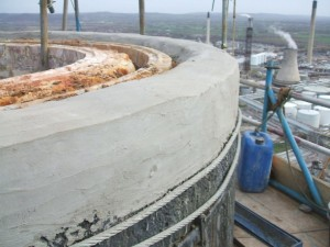 Repair to Concrete Shell