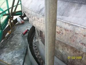 Liner Plating Repairs