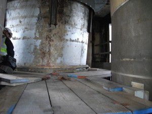 Inspection of Steel Liners