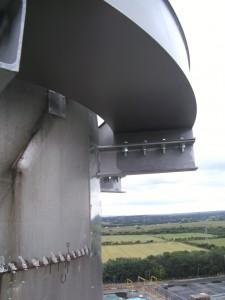 Damper System Installed
