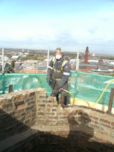 Demolition of Chimney Brickwork