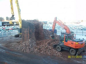 Demolition at Final Stage