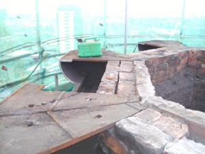 Removal of Cast Iron Head