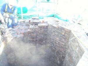 Demolition of Chimney Brickwork