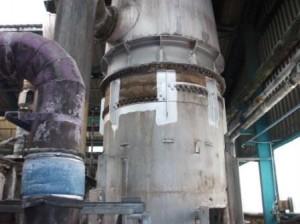 Steel Stiffening Work Complete