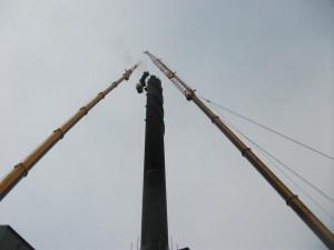 Stabilising Damper Installation