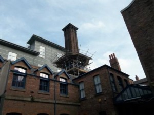 27m High Brick Chimney