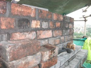 Re-build of Chimney Head & Blocking Brickwork