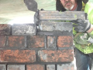 Re-build of Blocking Brickwork