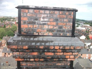 Chimney Head & Blocking Re-build Complete