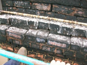 Loose & Unstable Chimney Head Brickwork