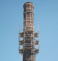 MARSTON'S GRADE II LISTED BRICK CHIMNEY REFURBISHMENT