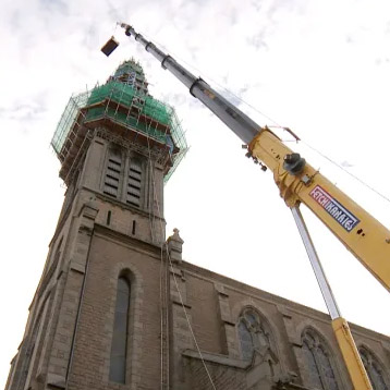 CRITICAL REPAIRS ST. THOMAS CHURCH JERSEY