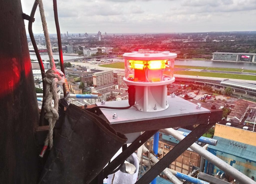 Aircraft Warning Light Installation